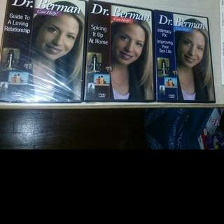 [Adults Only] Dr Berman Series Relationship Building For Couples Assorted. Take All For $15