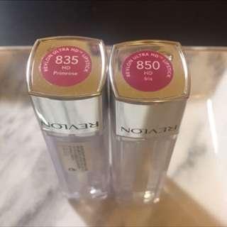 🚚 Revlon 露華濃重色輕油唇膏835、850