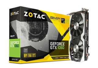 Buying Zotac Amp GTX 1060 6gb with backplate