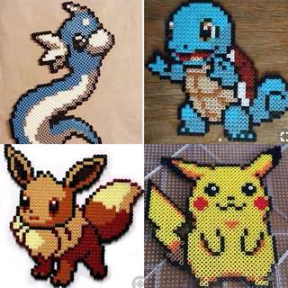 Pokemon Hama Bead Designs