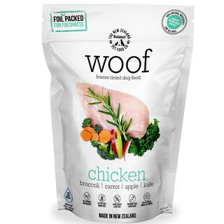 WOOF Freeze Dried Raw Chicken Dog Food 320g / 1.2KG