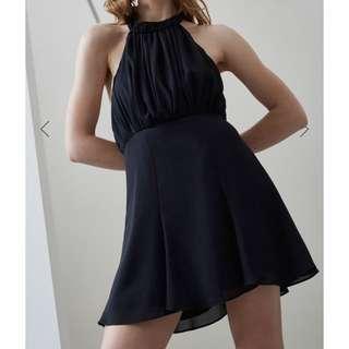 Cmeo black fading nights mini dress
