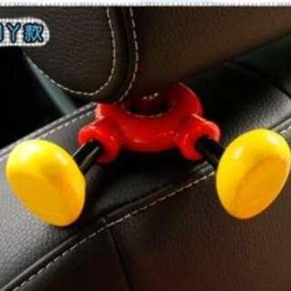 Car Seat Mickey Holder