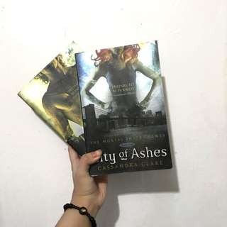 CITY OF BONES AND CITY OF ASHES!