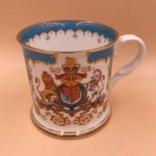 絕版珍藏 英國 Elizabeth II Golden Jubilee Mug by ROYAL COLLECTION-ENGLAND