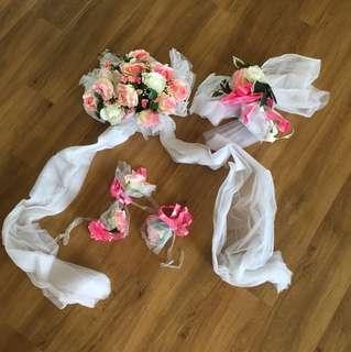 Car Wedding Decor set