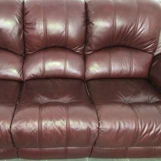 Offers Welcome! 3 seater leather lounge