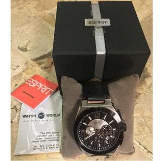 Authentic Esprit Chronograph Watches\Jam Tangan