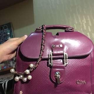 Tas fashion Chloe purple
