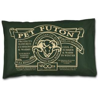 SNOOZA PET FUTON BED/COVERS