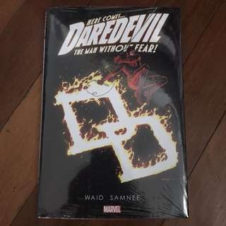 Marvel Comics Daredevil The Man Without Fear Volume 5 Mark Waid Chris Samnee HC Brand New Sealed Hard Cover