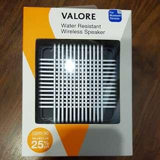 Valore Water Resistant Wireless Speaker