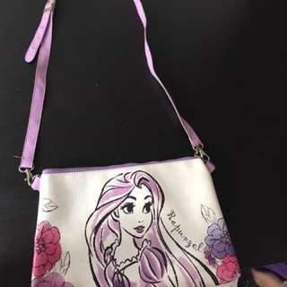 Rapunzle sling bag