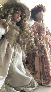 Antique Legit Porcelain Dolls