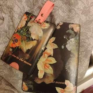 Ted Baker London 行李名牌和證件套