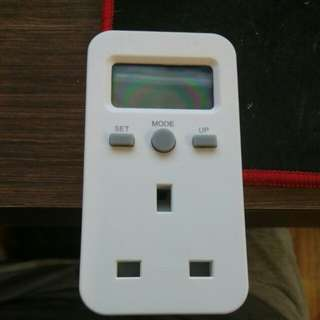 Digital electric watt meter