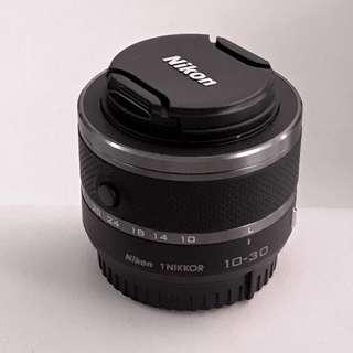 Nikon 1 Nikkor 10-30mm f3.5/5.6 VR lenses