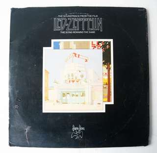 Led Zeppelin - The Song Remains the Same (2-disc Plaka / LP Record / Vinyl)