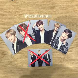 [WTT/WTS] BTS THE WINGS TOUR FINAL PHOTOCARD