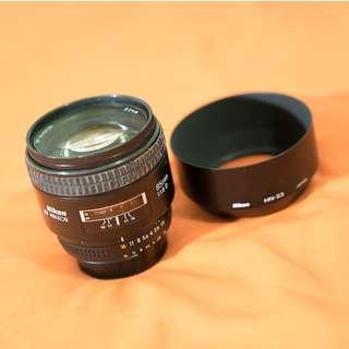 WTS Nikon AF 85mm F1.8 Prime Lens