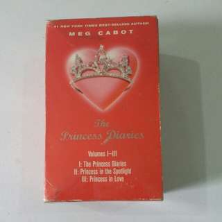 The Princess Diaries Volume 1 to 3