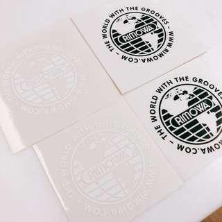 RIMOWA 喼貼紙 STICKER 一套四張包郵