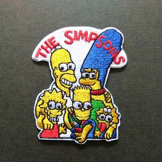 The Simpsons Family Iron On Patch