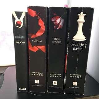 吸血新世紀 Twilight 英文小説全套
