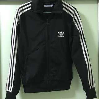 🚚 Adidas黑色外套 古著