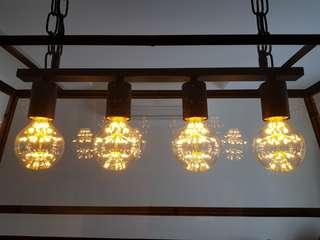 LED filament bulb retro vintage