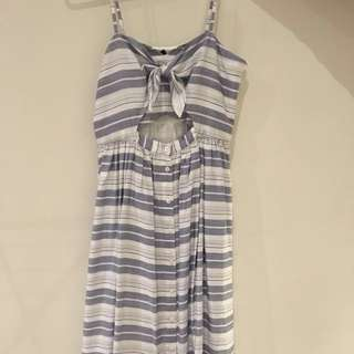 Forever New Tie Front Dress Size 10