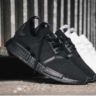 BNIB Adidas NMD Japan triple black