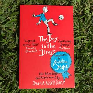 Pre-loved Book: The Boy in the Dress by David Walliams