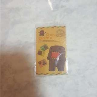 Domo ezlink card sticker