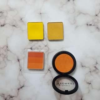 Orange and Yellow Eyeshadow Bundle