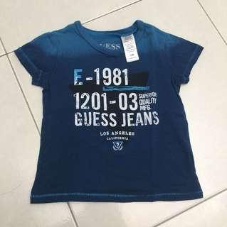 GUESS Baby Boy T-Shirt Blue