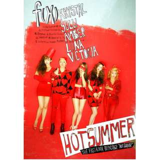 f(x) HOT SUMMER CD 已停止發行