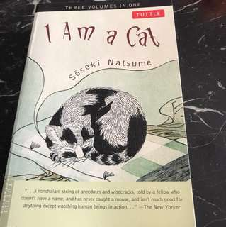 I Am a Cat by Soseki Natsume (Three Volumes In One)