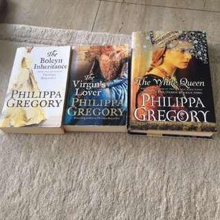 Philippa Gregory Books x 3