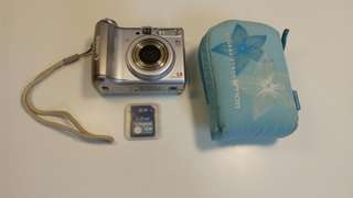 Canon PowerShot A530 + 1GB SD Card And Camera Bag