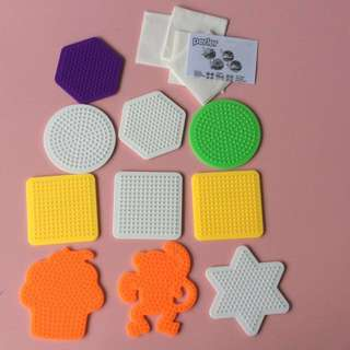 Pack of 10 new authentic Perler pegboard