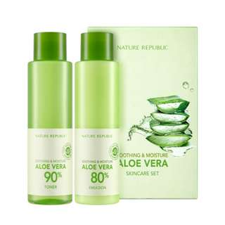[40% OFF] Nature Republic: Soothing & Moisture Aloe Vera Special Set