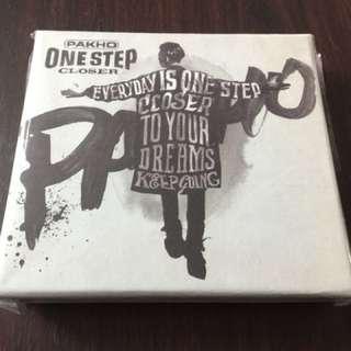 周柏豪 PAKHO ONE STEP CLOSER CD 專輯 4/2017