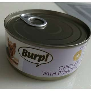 Burp Canned Food for Dogs