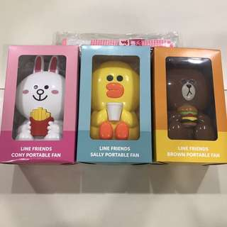 McDonald Line Friends portable fan