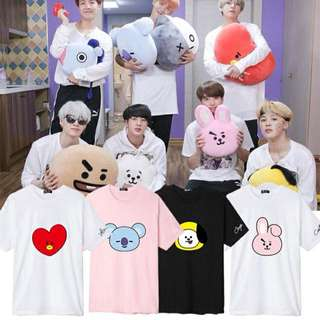 BT21 BTS UNOFFICIAL SHIRT