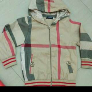 Jaket import burberry