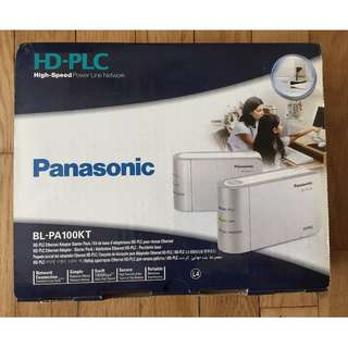 Panasonic Powerline Ethernet adaptor