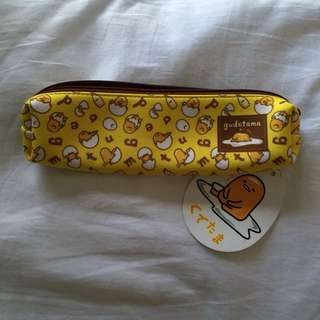 Sanrio gudetama small pencil case