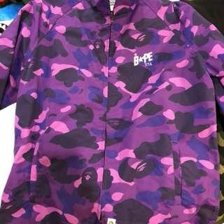 Bape 紫迷外套